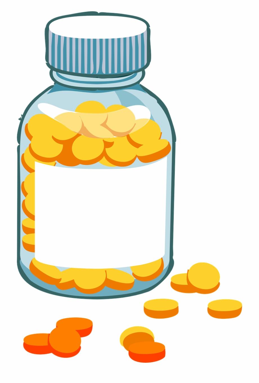 Medicine Bottle Pills Medication Png Image.