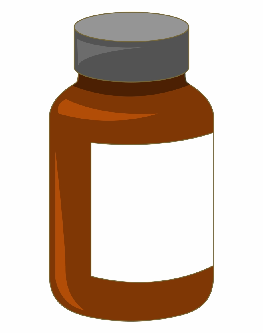 Free Pill Bottle Transparent Background, Download Free Clip.