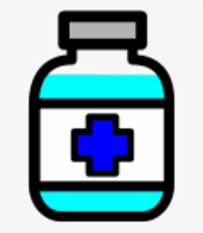 Medical Clipart Medicine Bottle.