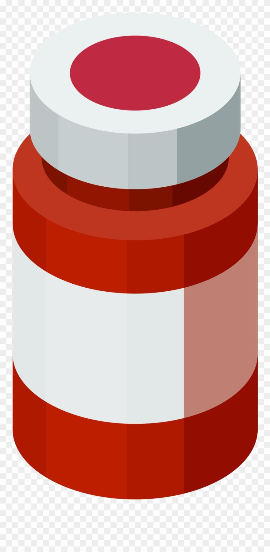 Medical Treatment Medicine Bottle Png And Vector Image.