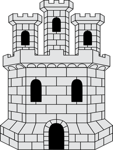 679 medieval castle clipart free.