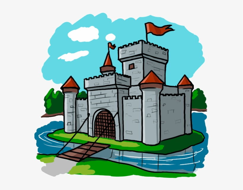 Castle Clipart Medieval Time.