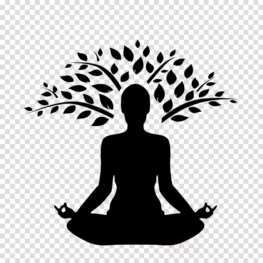 meditation silhouette clip art physical fitness yoga clipart.