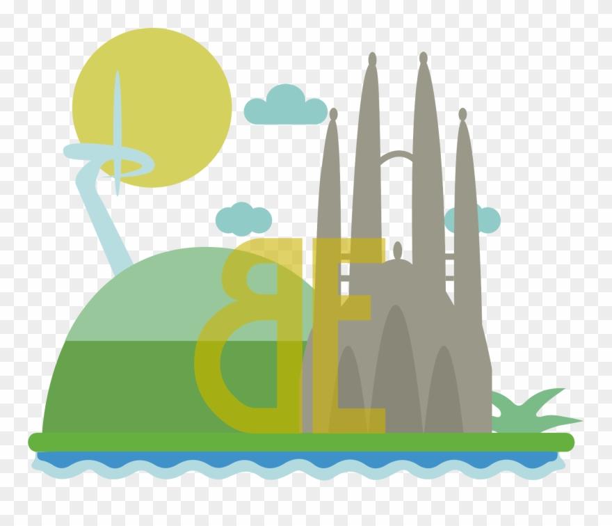 Barcelona, Catalonia\'s Capital, Is A Mediterranean Clipart.