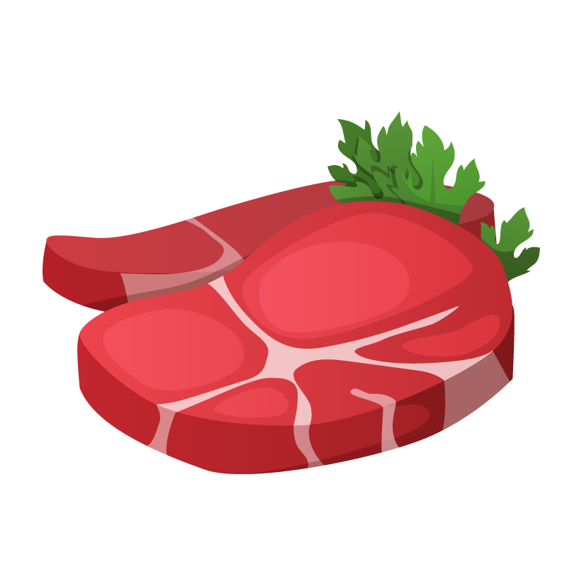 Meat clipart meat seafood, Meat meat seafood Transparent.