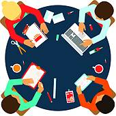 Team meeting clipart 3 » Clipart Station.