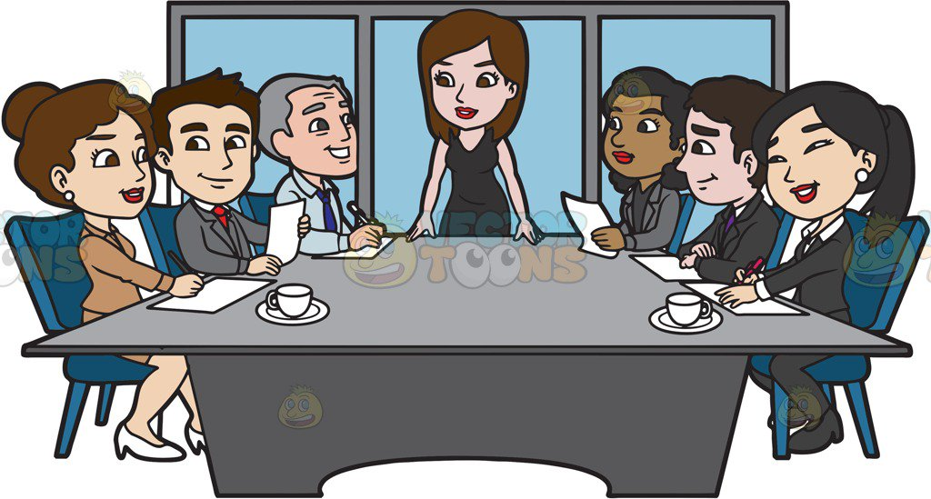 Clipart meeting cartoon 8 » Clipart Station.