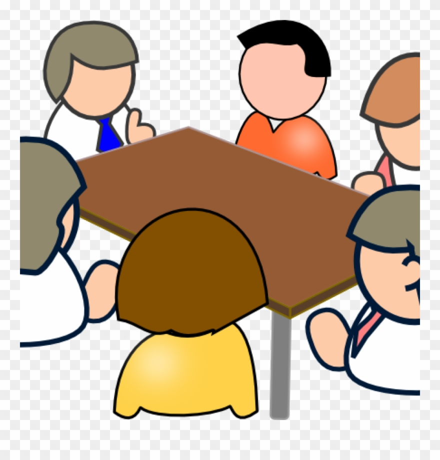 Clipart Teacher Meeting.