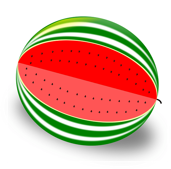 Watermelon Fruit Melon 183 Free Vector Graphic On Pixabay.