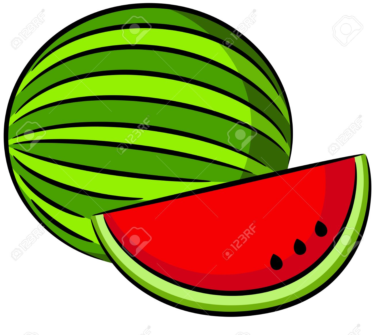 Melone clipart 7 » Clipart Station.