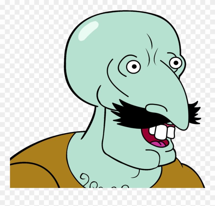 Handsome Squidward Meme Clipart (#3324523).
