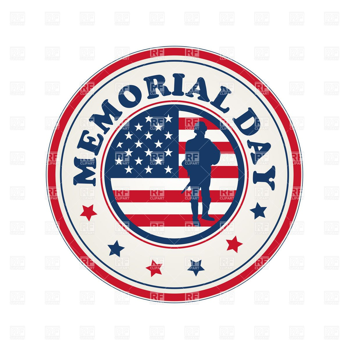 Clipart for memorial day 5 » Clipart Station.