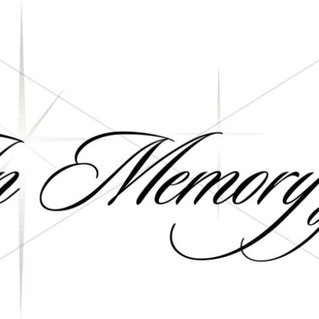 Clipart For Memorial Service.