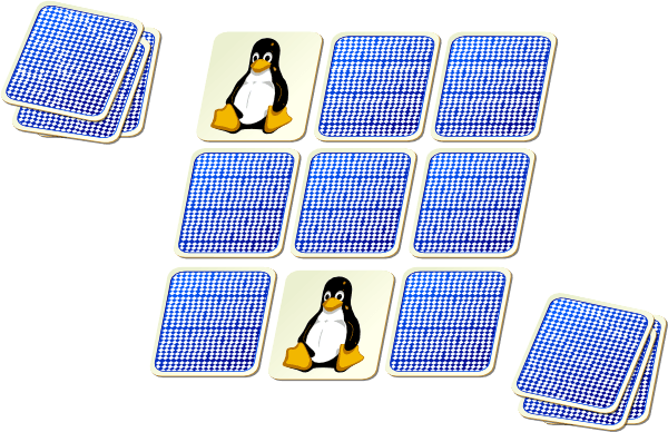 Memory Game Cliparts.