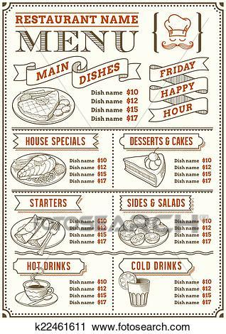 Food menu clipart 3 » Clipart Portal.