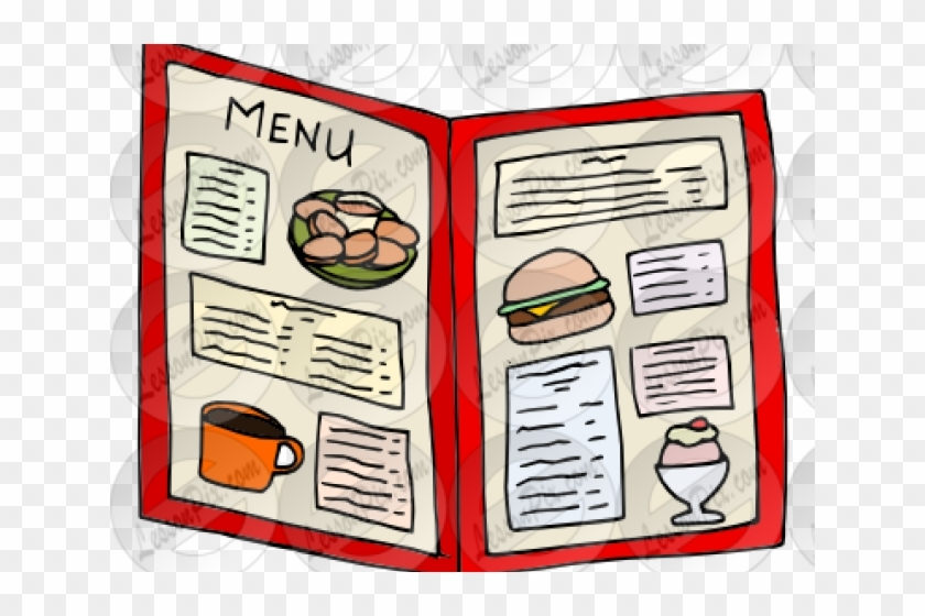 Restaurant Menu Clipart Free Transparent Png Within Outstanding.