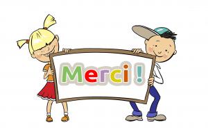 Clipart merci 1 » Clipart Station.
