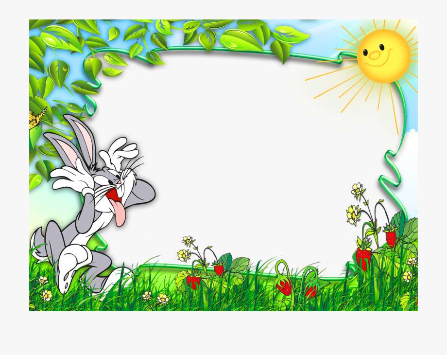 Clipart Forest Frame.