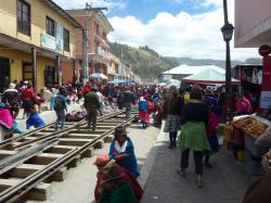 Guamote, Attractions of Guamote, Ecuador 2019.