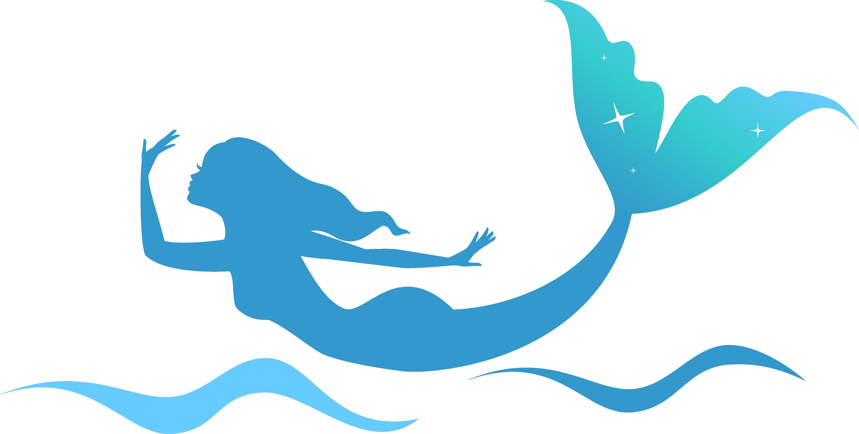 AquaMermaid Chicago Siren Clip art.