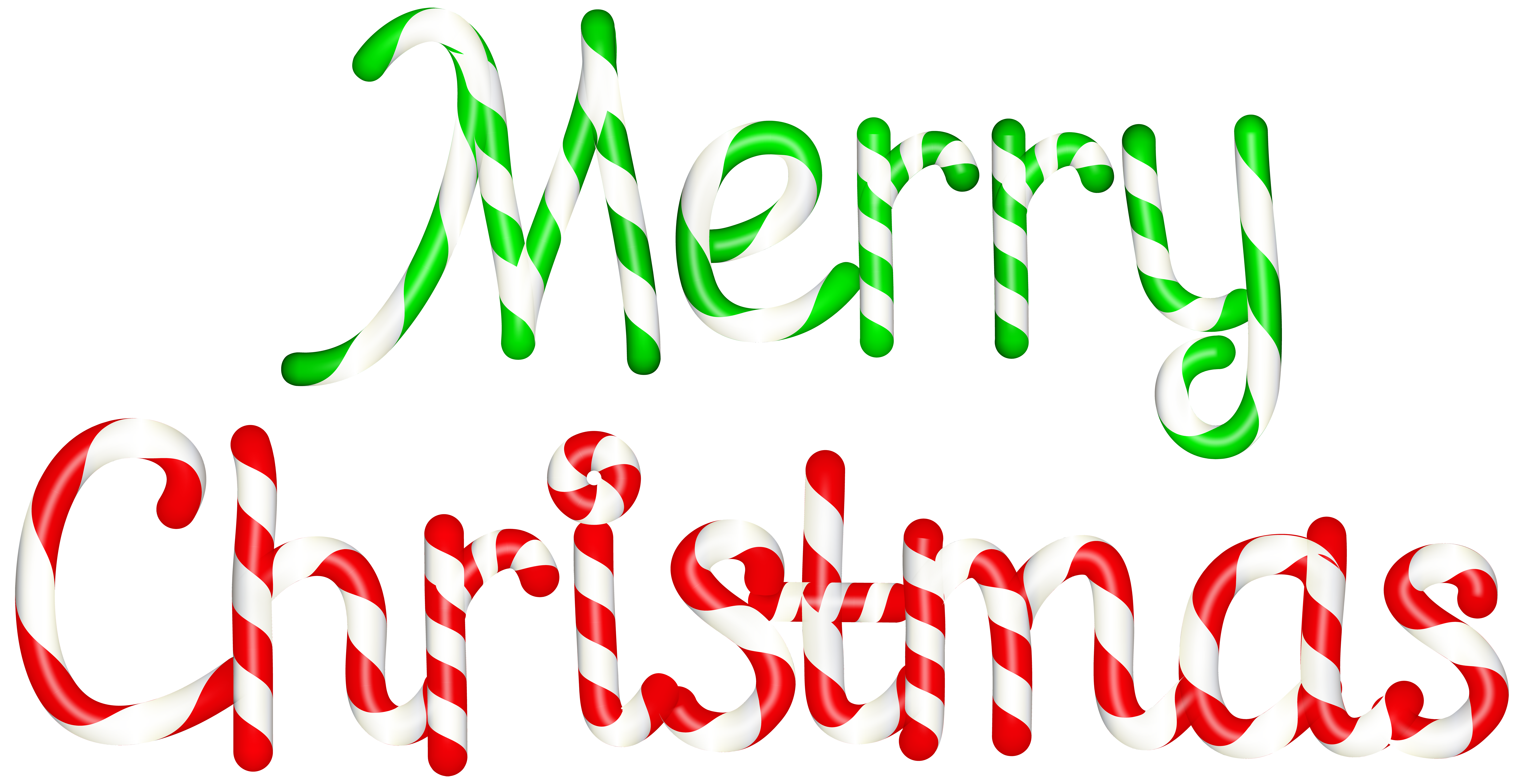 Merry Christmas Clipart Transparent Background.