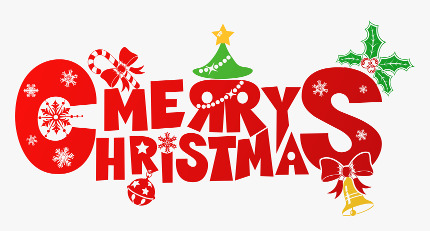 Clipart Designs Merry Christmas.