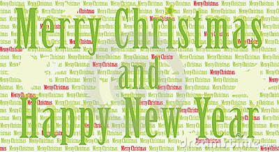 Merry Christmas And Happy New Year Clip Art Free.