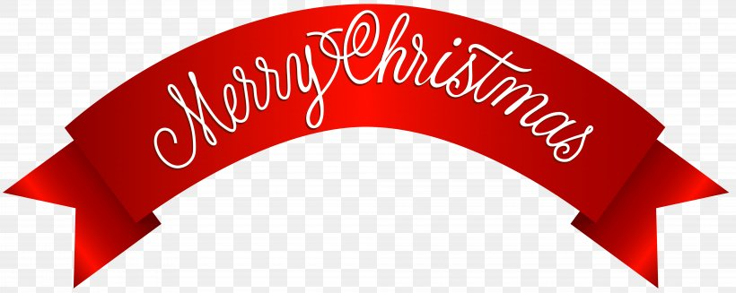 Christmas Banner Clip Art, PNG, 8000x3195px, Santa Claus.