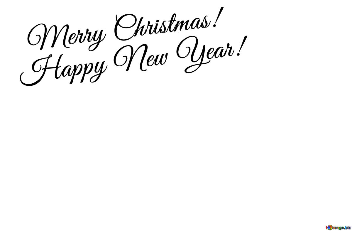 Download free picture clipart Merry Christmas and Happy New.