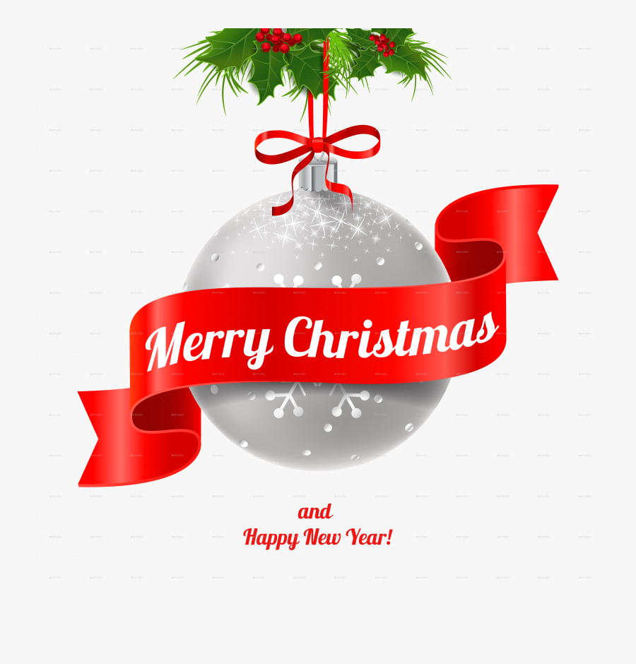 Clip Art Merry Christmas And Happy New Year Images.