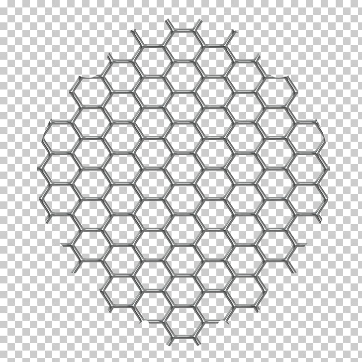 Honey bee Honeycomb structure Paper Hexagon, mesh PNG.