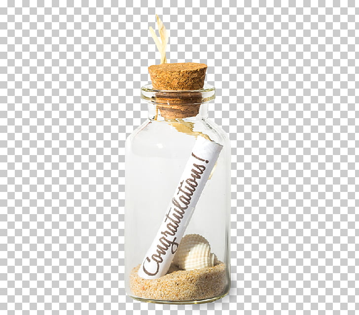 Glass bottle Message in a bottle, Message In A Bottle PNG.