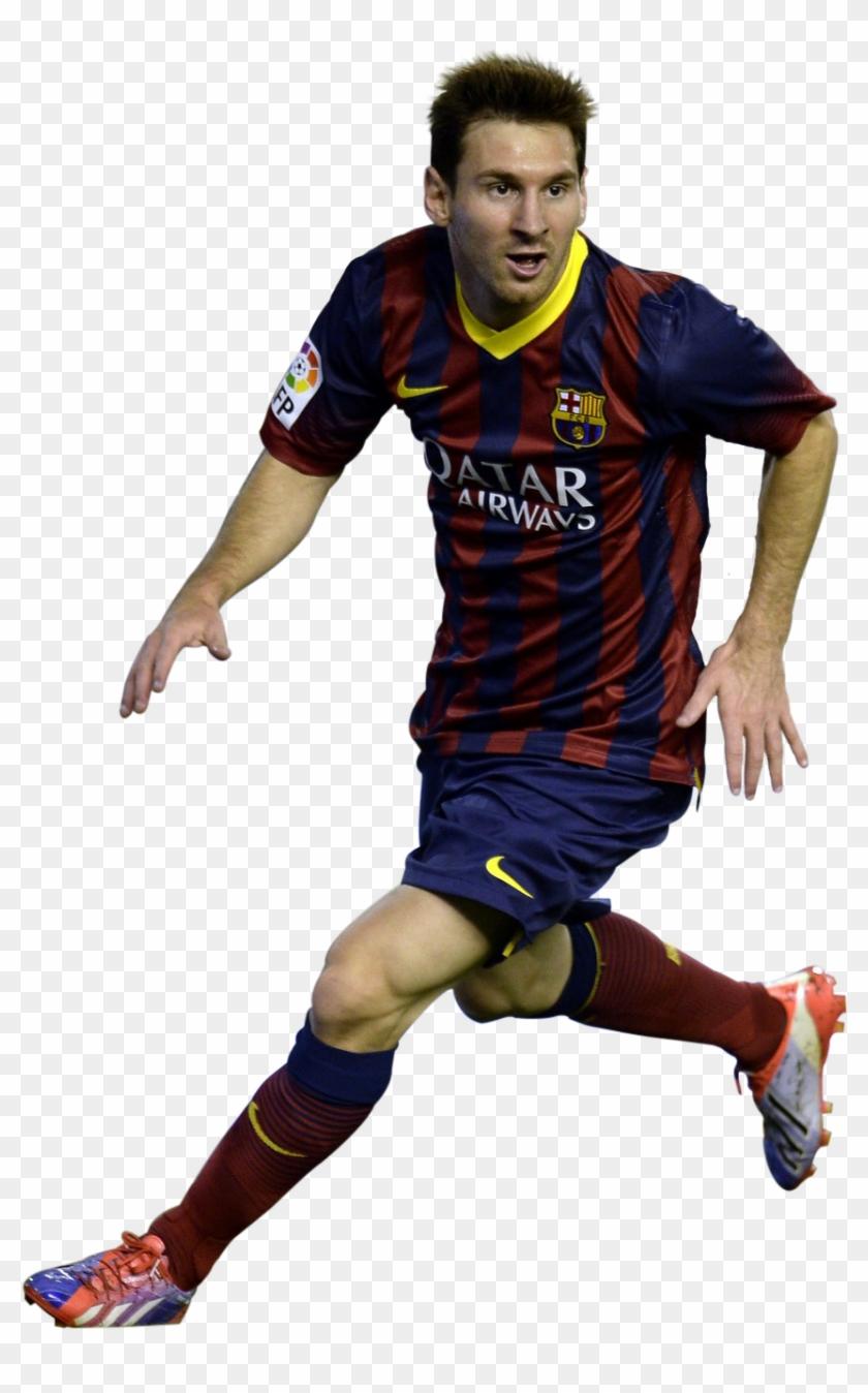 Footballer Clipart Barcelona Soccer.