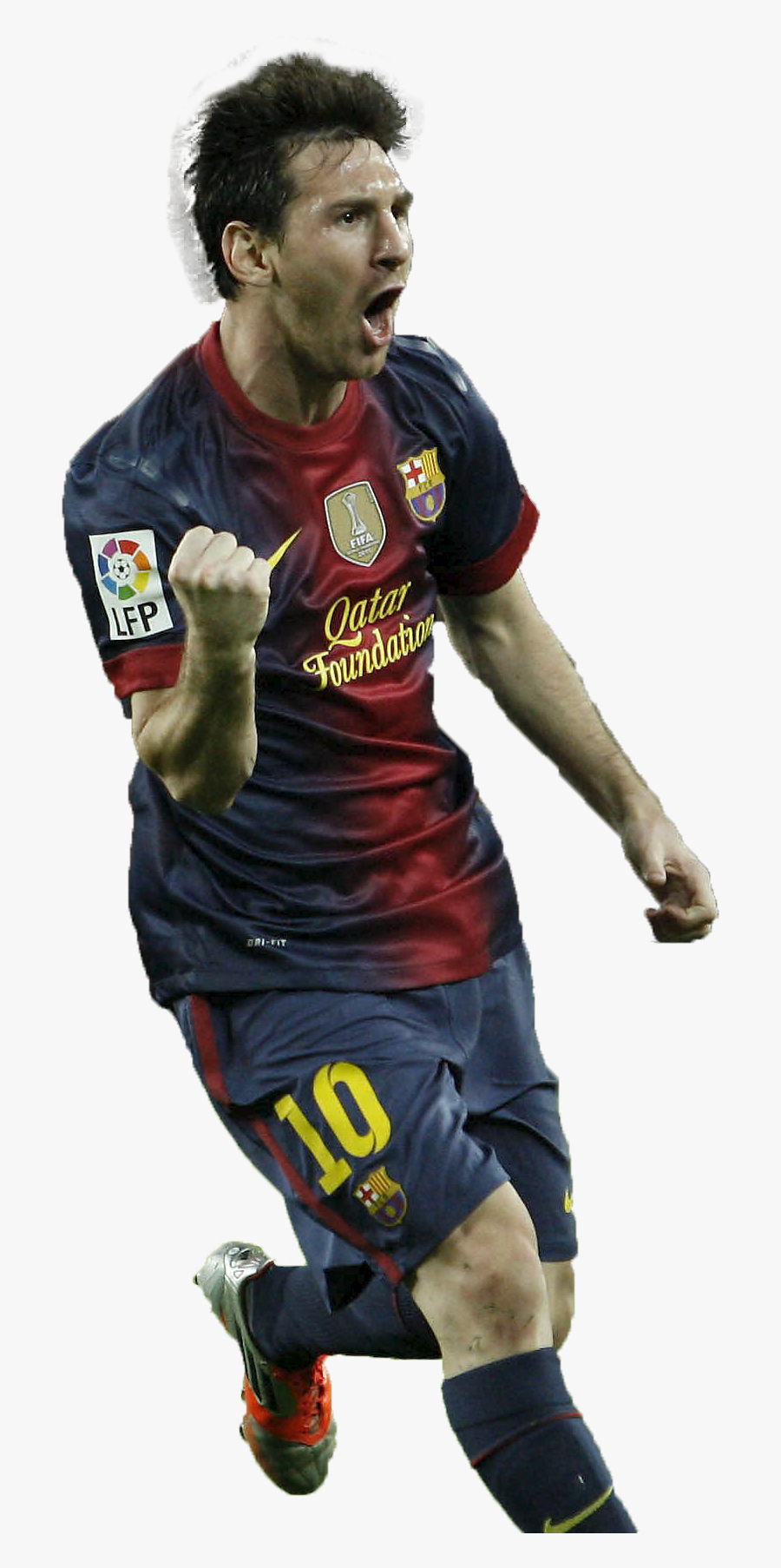 Lionel Messi Png Hd Goal Barca Clipart Image.