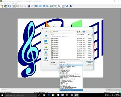 ULEAD PHOTO EXPLORER 8.5 photo image/WMF clipart viewer.