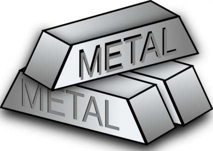Metal Block Icons clip art.