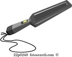 Metal detector Clipart Vector Graphics. 256 metal detector EPS.