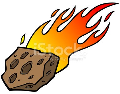 Meteor Clipart Image.