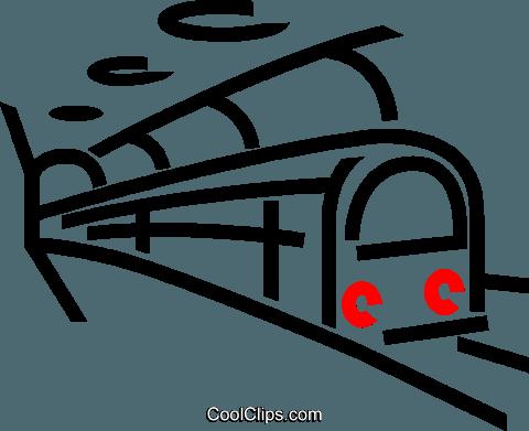 treno della metropolitana immagini grafiche vettoriali.