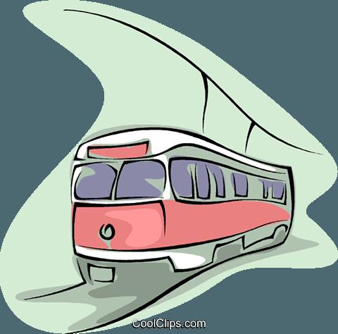 subway Royalty Free Vector Clip Art illustration.