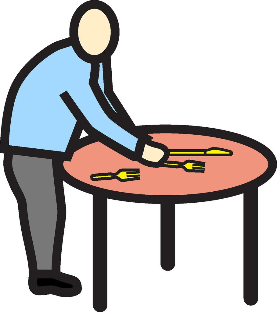 Mettre la table clipart 10 » Clipart Station.