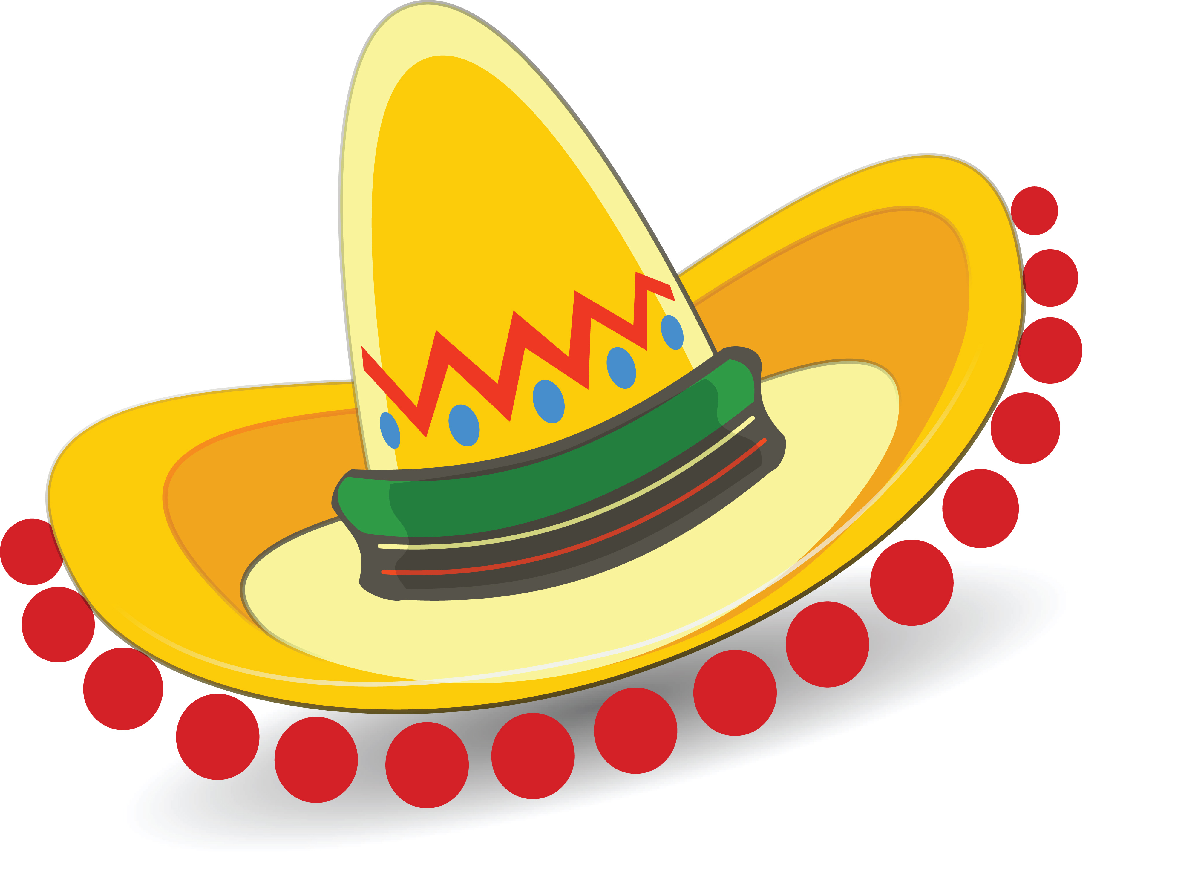 Free Clipart Of A Mexican Sombrero » Clipart Station.