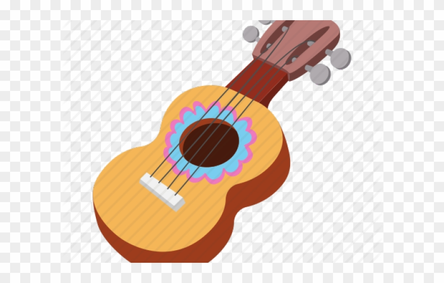 Ukulele Clipart Mexican Guitar.