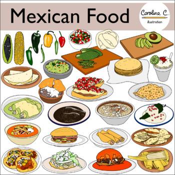 Mexican Food Clip Art.