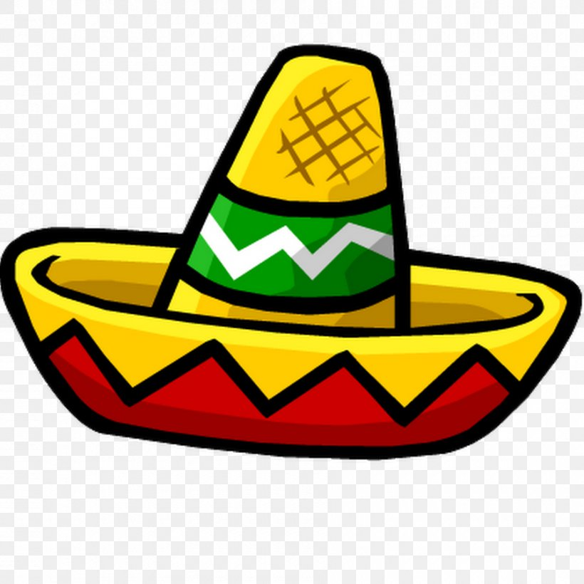 mexican with sombrero clipart #7