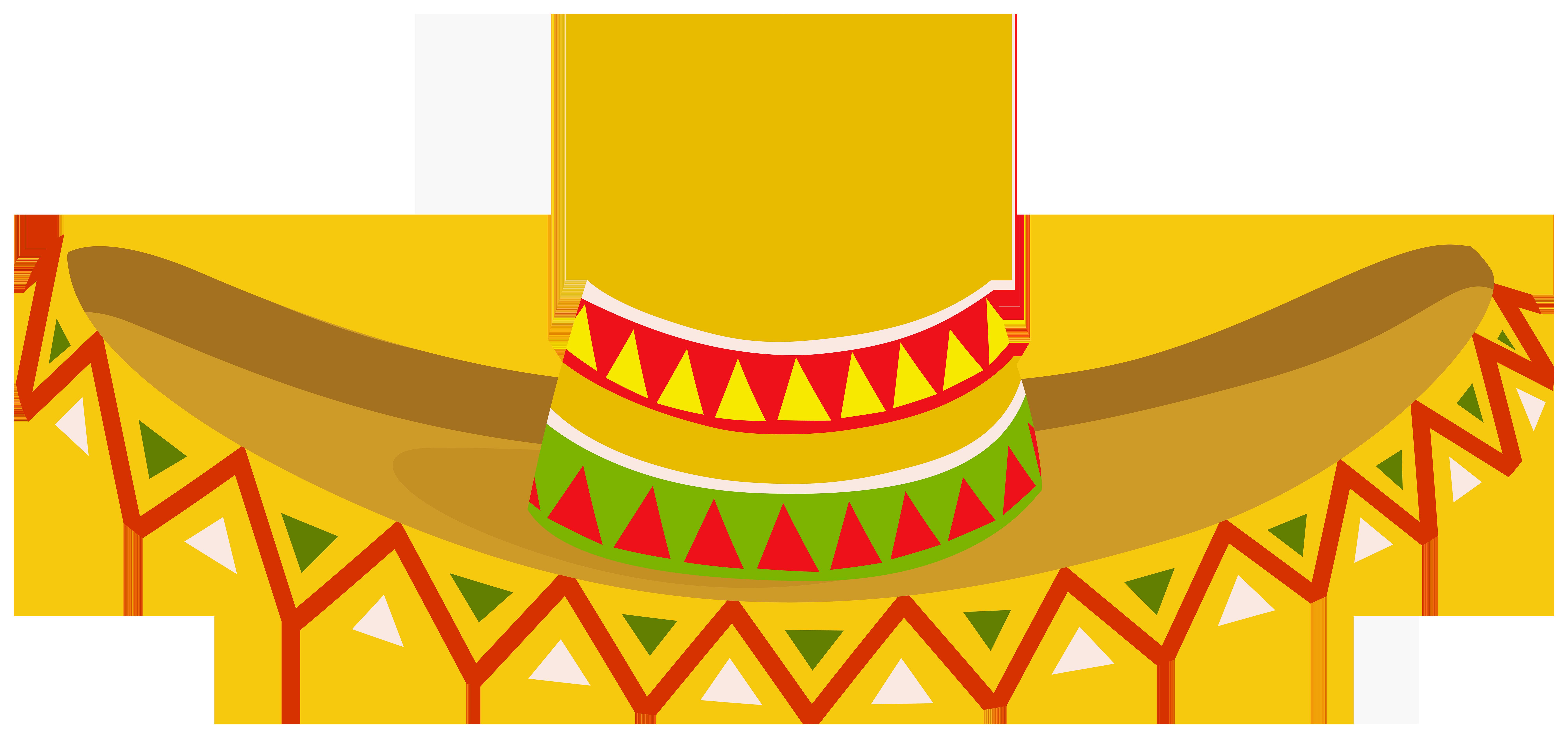 Mexican Sombrero PNG Clipart.