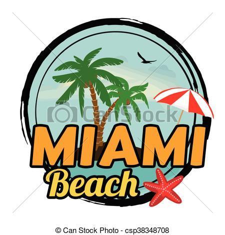 Miami beach clipart » Clipart Portal.