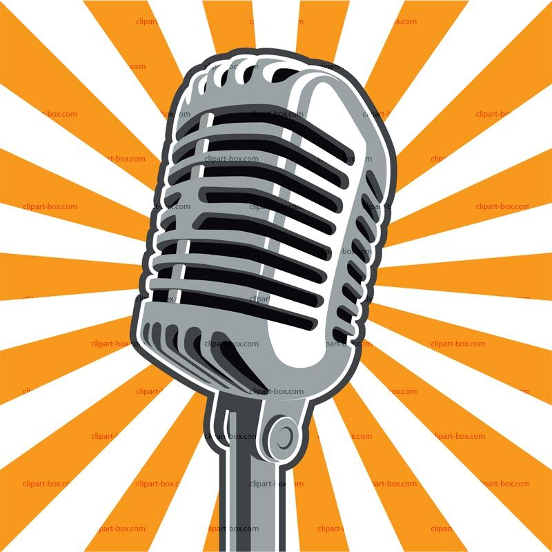 Radio microphone clip art free clipart images in 2019.