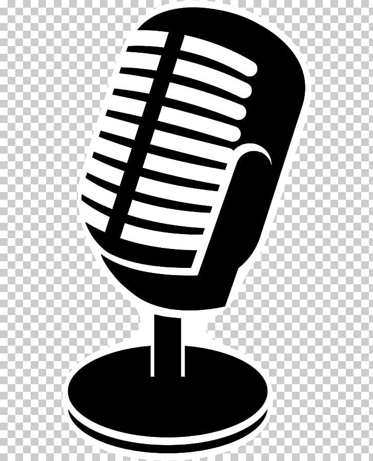 Microphone Podcast YouTube Talk radio, gambar mic PNG.