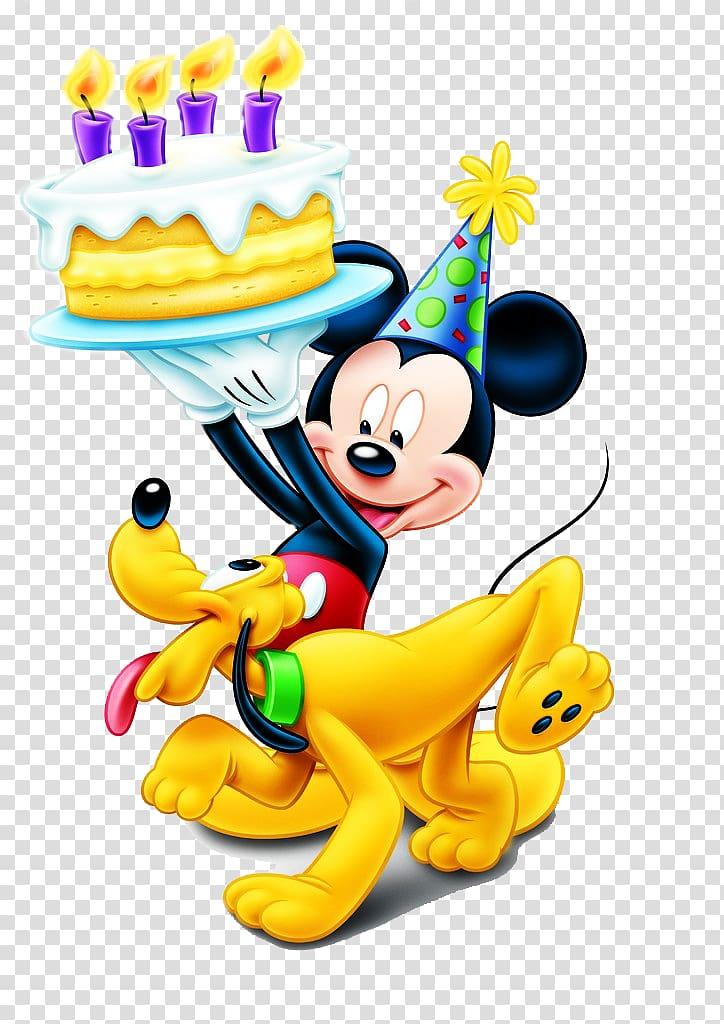 Mickey Mouse Minnie Mouse Pluto Birthday The Walt Disney.